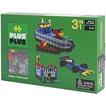 Plus-Plus - 52126 - Jeu éducatif de construction  - Mini Basic 3-en-1 - 480 Pièces