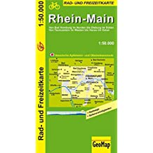 Rhein-Main 1 : 50 000. Radkarte (Geo Map)