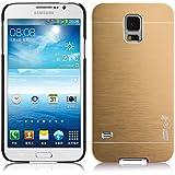 JAMMYLIZARD | Aluminium Schutzhülle für [ Samsung Galaxy S5 & S5 Neo ], GOLD