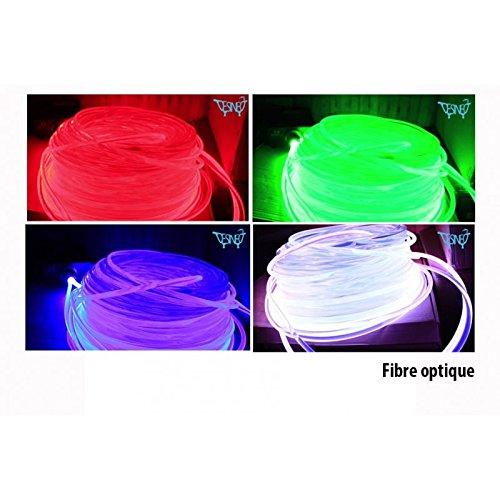 Fibra Optica 10mm diámetro generador luz fibra