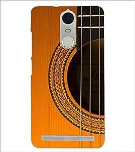 PrintDhaba Guitar strings D-5898 Back Case Cover for LENOVO K5 NOTE (Multi-Coloured)