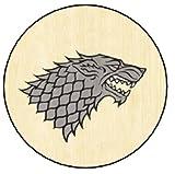 SPQR Craft Haus Stark Sigil–Game Of Thrones Schlüsselanhänger–Buttons/Schlüsselanhänger/Magnete/-Flaschenöffner