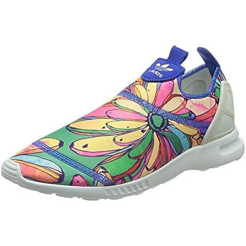 Adidas ZX FLUX Adv Smooth Slip-on Sneaker da donna, bunt