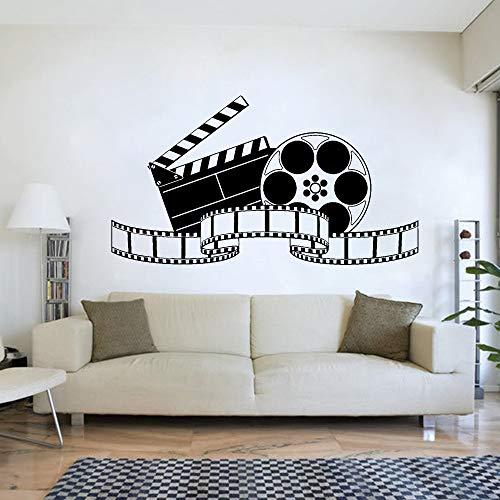 BFMBCH Retro filmkunst film wandaufkleber wandbilder vintage poster vinyl wandaufkleber schlafzimmer haus dekorationen heimkino wandaufkleber A3 76X42 CM