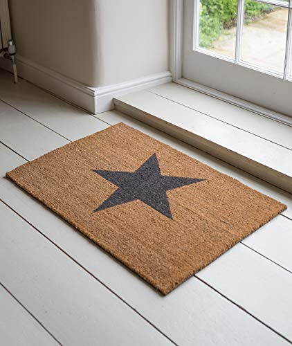 Felpudos divertidosGarden Trading Star Doormat - Large by Garden Trading