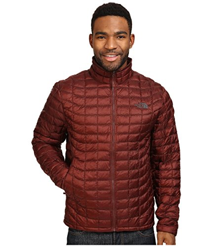 The North Face Men's ThermoBall Full Zip Jacket,Sequoia Red,US L North Face Down Coat
