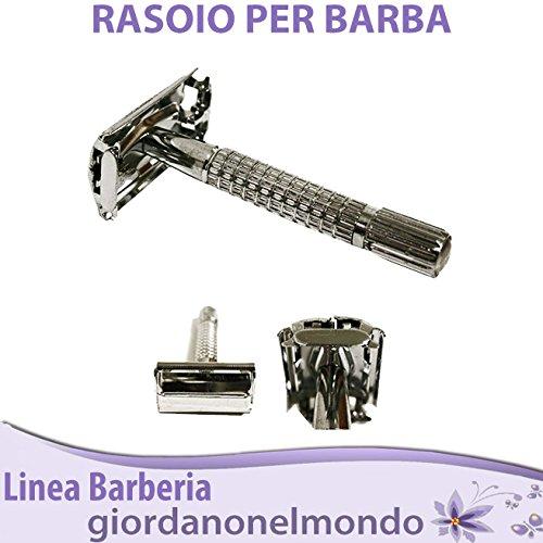 RASOIO A MANO LIBERA ALTA PRECISIONE PROFESSIONALE DA BARBIERE