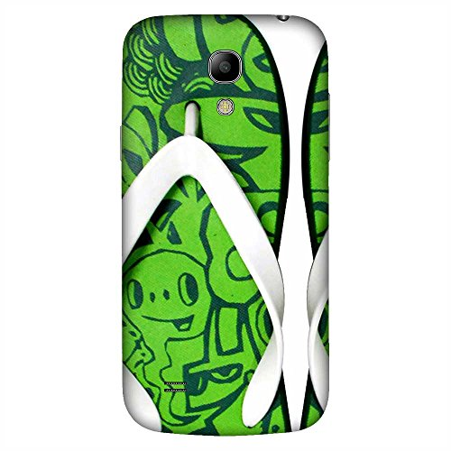 Mobo Monkey Printed Designer Hard Tpu Armor Bumper Shell Back Case Cover for Samsung Galaxy S4 Mini I9195I :: Samsung I9190 Galaxy S4 Mini :: Samsung I9190 Galaxy S Iv Mini :: Samsung I9190 Galaxy S4 Mini Duos :: Samsung Galaxy S4 Mini Plus (Slipper :: Sandal :: Quirky :: Humor :: Funny :: Green Design)  available at amazon for Rs.349