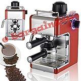 Sentik Professionell Espresso Cappuccino Kaffeemaschine Heim - Büro - Rot