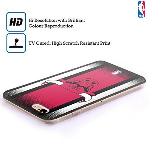 Ufficiale NBA Camouflage Digitale Chicago Bulls Cover Morbida In Gel Per Apple iPhone 6 / 6s Gradiente Mezzotono
