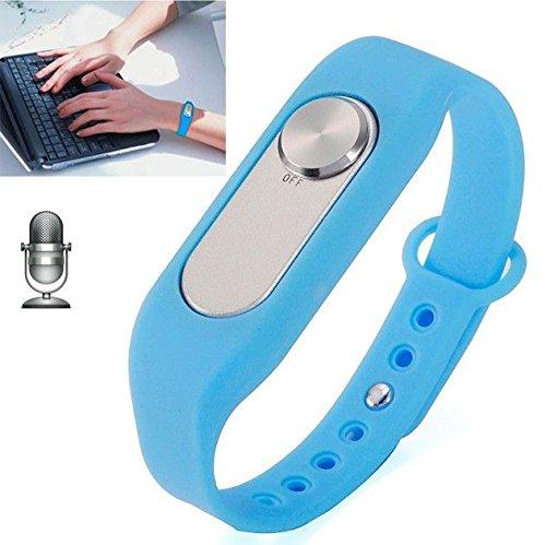4 Gb-armband (Armband Sprachrecorder Gehäuse Abnehmbarer 4GB Speicher Flash Blau)