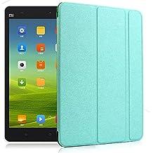 Prevoa ® 丨 Funda de piel de cuerpo entero para Xiaomi Mi Pad 7.9 Pulgadas Tablet con Auto Sleep/Wake Function - Verde