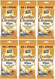 6x paquets de tissu magiques cuir Lingettes nettoyantes–24Lingettes