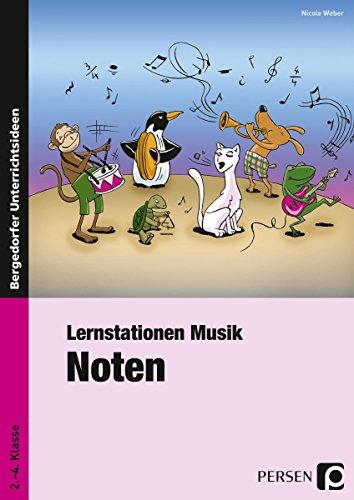 Preisvergleich Produktbild Lernstation Musik: Noten: 2. bis 4. Klasse