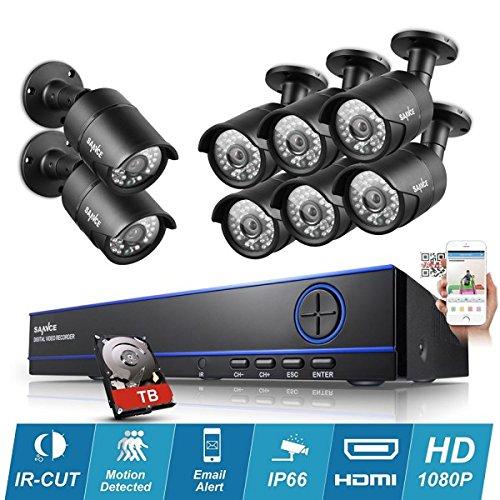 Kit-videovigilancia-8-Cmaras-tubos-Pro-Full-AHD-1080P-Sony-2-MP–incluye-4000-GB-8-Cable-de-20-m-incluye-sin-pantalla