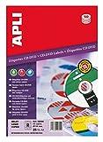 APLI 2899 - Etiquetas blancas opacas