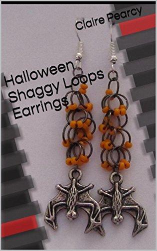 Halloween Shaggy Loops Earrings: Jewellery Making Tutorial (English Edition)