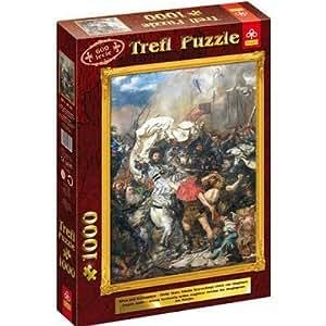 Puzzle 1000 pièces - Grand Maître Ulrich Von Jungingen, Bataille de Grunwald, Pologne