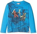 Lego Wear Jungen Langarmshirt Lego Boy Ninjago Thomas 109-Langarmshirt, Blau (Blue 538), 146