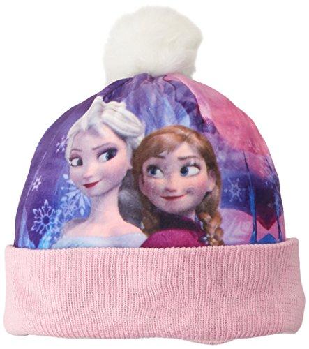 Kostüm Mütze Olaf - DISNEY Unisex-Child Hüte & Mützen  Gorro  Frozen , rosa, größe 52