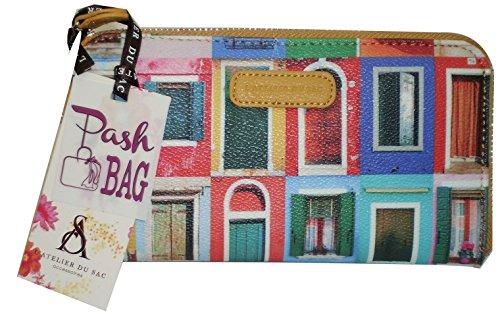 Portafoglio Pashbag by L'atelier du sac mod 4402 porte monnaie SENAPE