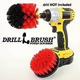 drill Powered Shop esterni e durevole con setole scrub Brush kit