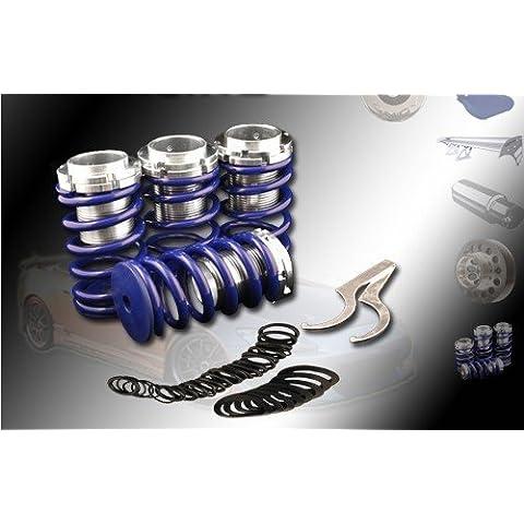 (Blue)88-00 Honda Civic/90-01 Acura Integra/90-02 Honda Accord/93-97 Honda Del Sol Coilovers Spring Kit by High performance parts
