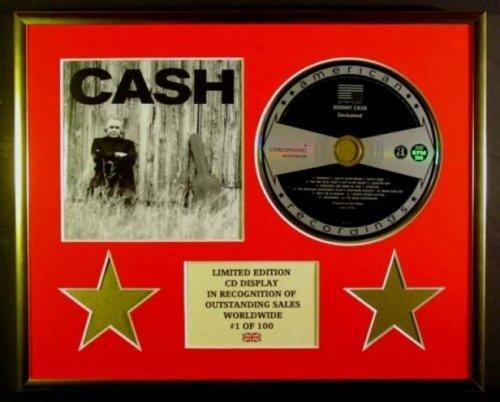 JOHNNY CASH/CD Display/Limitata Edizione/Certificato di autenticità/CASH