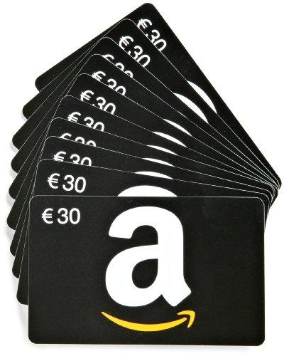 Tarjeta Regalo Amazon.es - €30 Lote 10 tarjetas