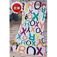 BOLSO PLAYA ROXY MUJER. SunJin Boutique, puro algodón, algodón puro, absorción de agua, una toalla de