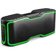 AOMAIS Altoparlante Bluetooth Wireless, 20W Subwoofer Altoparlante Stereo Portatile Per