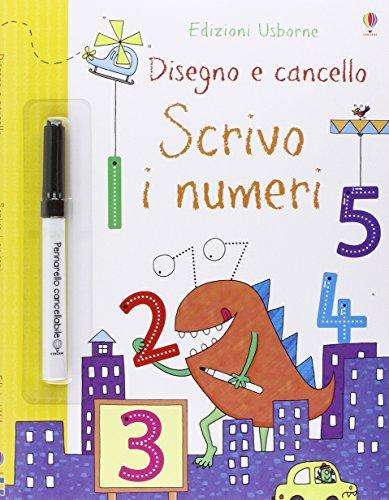 Scrivo i numeri. Disegno e cancello. Ediz. illustrata. Con gadget