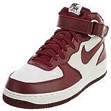 Nike Scarpa Air Force 1Mid 315123–001–Sneaker Herren, Rot - Rot - Größe: 40 EU