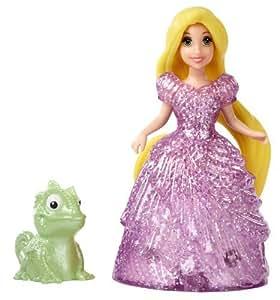 Mattel Disney Princesse Glitter Glider Raiponce mini poupée magiclip