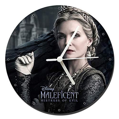 Maleficent 2 Mistress of Evil Michelle Pfeiffer Wanduhren Wall Clock 20cm