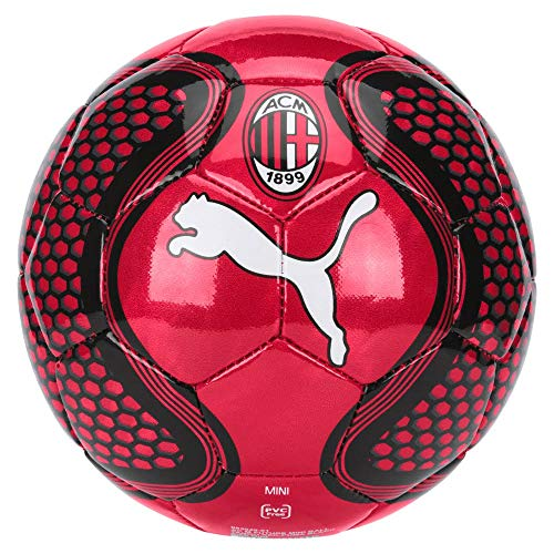 Puma AC Milan Future, Ball Unisex – Adulto, Tango Red-puma Black, Mini