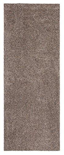 andiamo 294450 Schmutzfangmatte Samson / Robuste Matte aus Baumwolle in Granit für den Innenbereich / 1 x rutschhemmende Türmatte (67 x 180 cm)