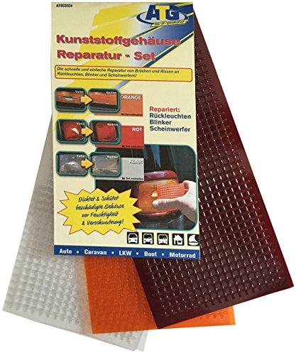 Kit di riparazione fari, gli elementi del riflettore 3 colori: rosso, arancione, chiaro
