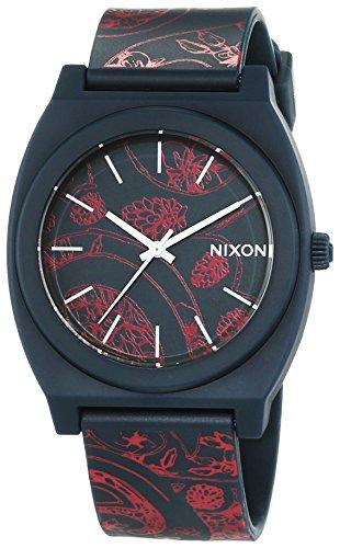nixon-a1191984-00-montre-femme-quartz-analogique-bracelet-plastique-bleu