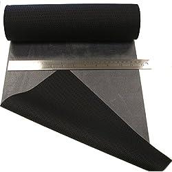 0,5 mètres Réparer Patch Matériel Melco T-5500 -combinaison de plongée / Combinaison étanche, Plongée - adhésif thermofusible, appliquer de fer électrique (Noir, 300mm Largeur)