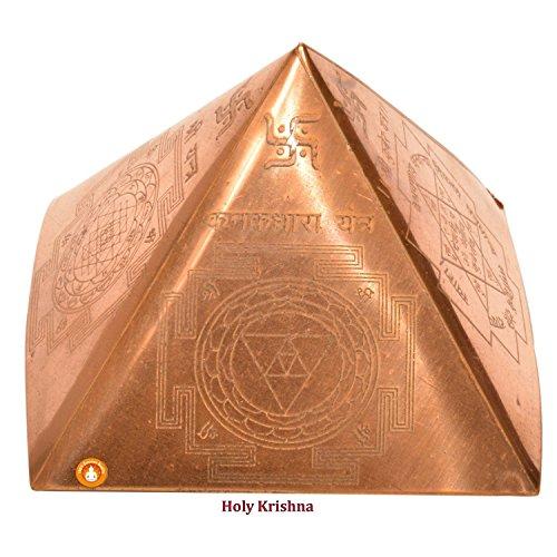 energized-premium-quality-vastu-dosh-nivaran-copper-pyramid-4-side-sudarshan-yantra-laxmi-yantra-fre