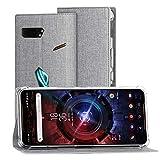 Foluu ASUS ROG Phone 2 Case, ASUS ROG Phone 2 Wallet Case