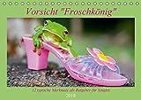 Vorsicht: Froschkönig (Tischkalender 2018 DIN A5 quer): Eine witzige Geschenkidee für alle Single Frauen. (Geburtstagskalender, 14 Seiten ) (CALVENDO ... [Apr 16, 2017] Travelpixx.com, k.A.