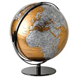 Globe Collection Mappamondo, plastica, Multi/Colour, 43 x 43 x 51 cm