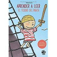 Aprender a leer - El Tesoro del Pirata: En letra MAYÚSCULA y manuscrita: libros para niños de 5 y 6 años (Aprender a…