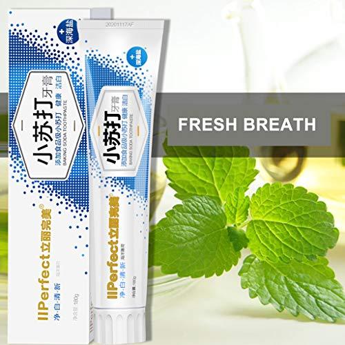 Whitening Mint Probiotische Zahnpasta, Teeth Whitening,Bleaching Zähne Toothpaste Weiße Zähne Frischer Atem,Flecken entfernen,zum Schutz der Zähne vor Zahnstein und gegen Zahnfleischbluten (100g) -