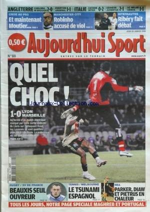 AUJOURD'HUI SPORT [No 88] du 29/01/2009
