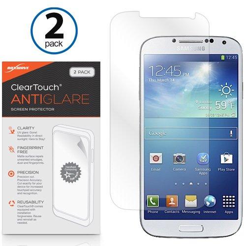 Galaxy S4pellicola protettiva,  [Boxwave Cleartouch antiriflesso (pezzi)] anti-impronte opaca della pellicola di protezione per Samsung Galaxy S4