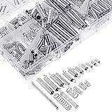 200 pezzi Molle tensionatrici per assortimento molla Varie piccole molle di estensione e compressione con contenitore