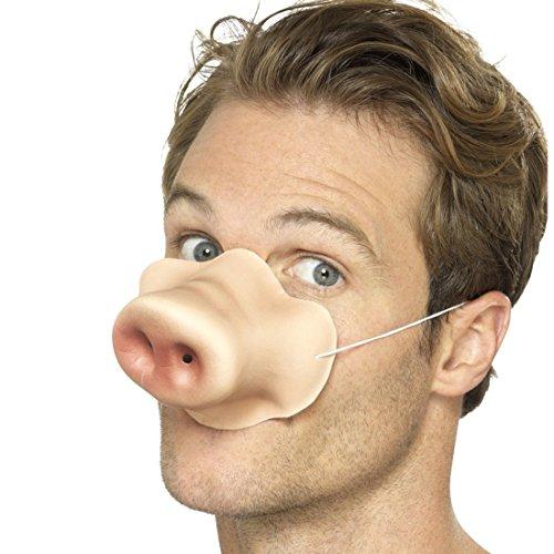 Schweinenase Tiernase Schwein Nasenmaske Schweinchen Ferkel Schnauze